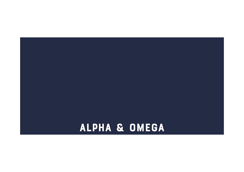 Visuel logo Alpha & Omega